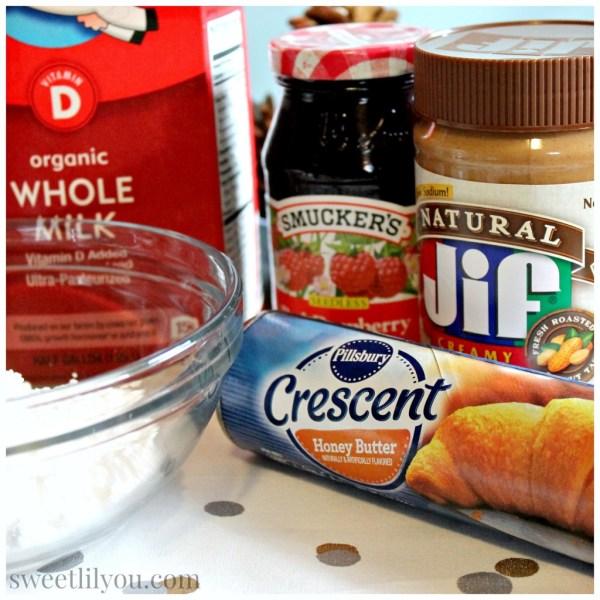 Ingredients PB&J Pinwheels #HolidayAdvantEdge #ad