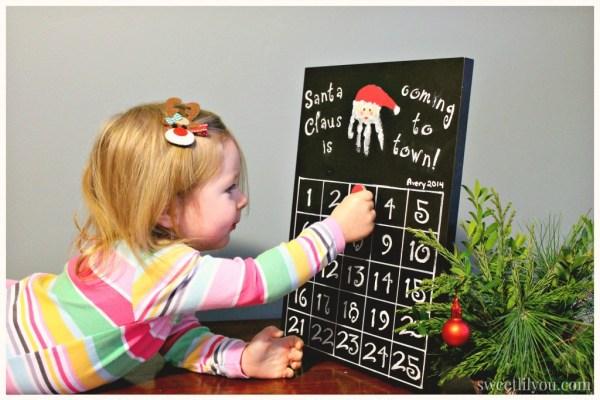 Title image Gerber Christmas countdown calendar
