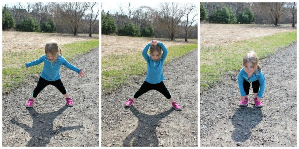 Make sure to warm up before a run! Toddler Athletic apparel