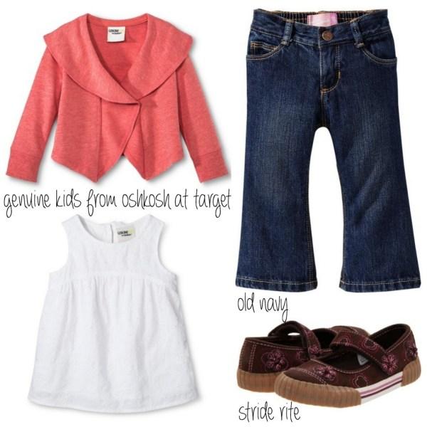 Toddler Style from Old Navy, Target, Oshkosh, Stride Rite