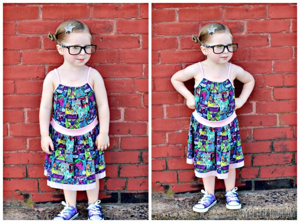 Superhero clothes for girls