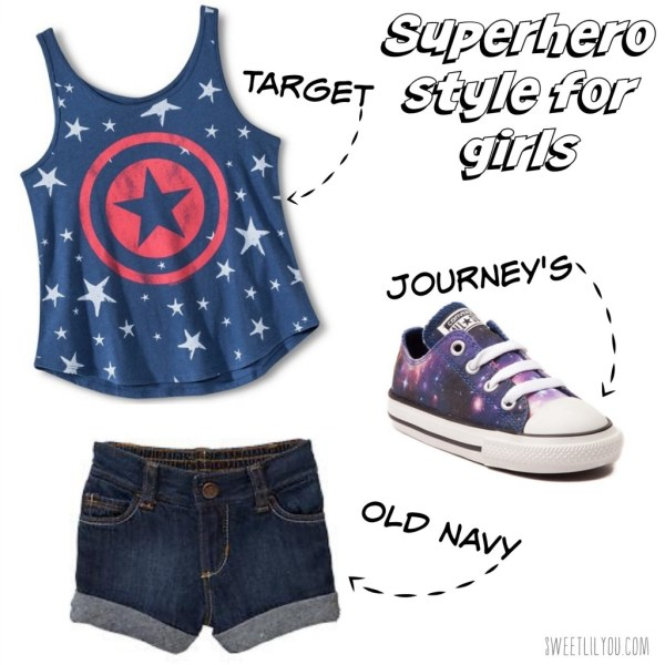 Superhero style for girls Marvel at Target