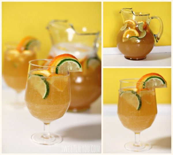 Citrus Beer - Shandy Sangria - Summer beverage