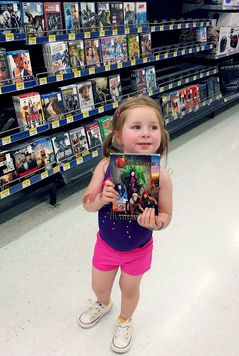 Disney's Descendants at Walmart