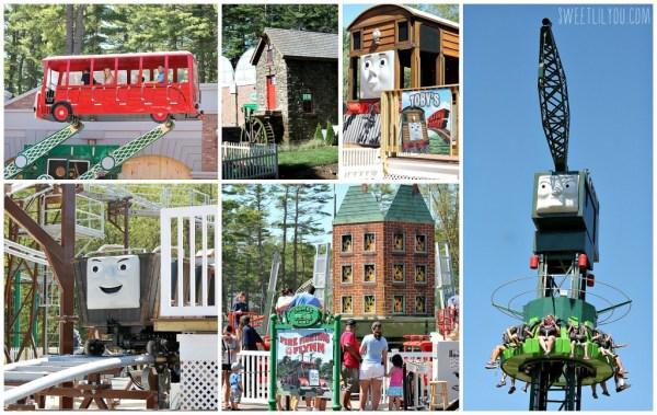 Rides & Attractions at Thomas Land USA