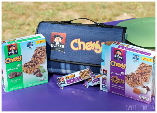 Quaker Chewy Girl Scouts Granola Bars GIVEAWAY