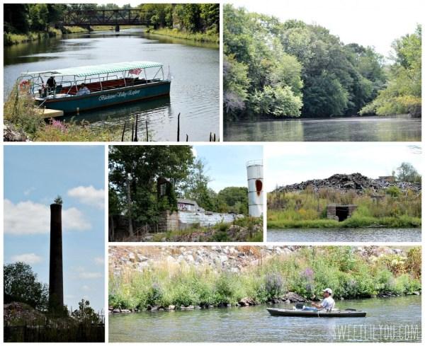 Tours on the Blackstone River aboard the Blackstone Valley Explorer #BlackstoneValley