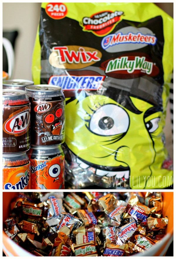 candy and soda