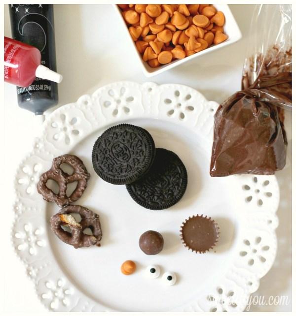 Cookie Turkey Ingredients