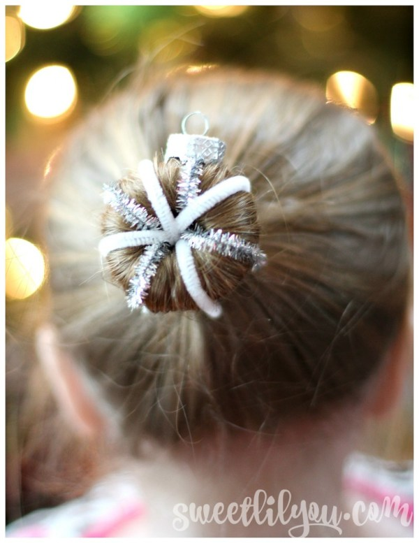 Christmas Ornament hairstyle