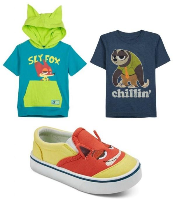 zootopia clothing for boys