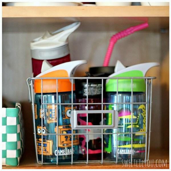 water bottle basket