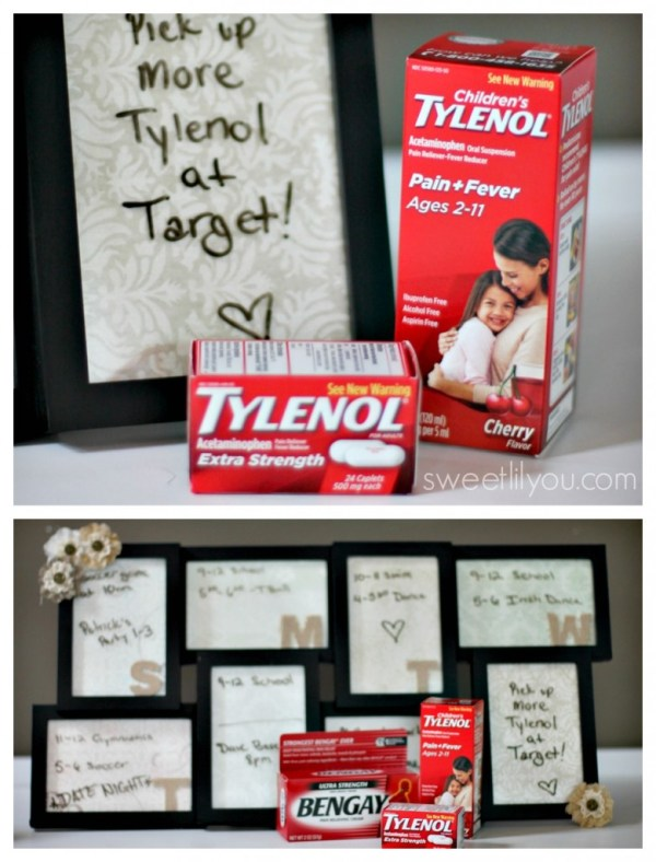 Tylenol back to school