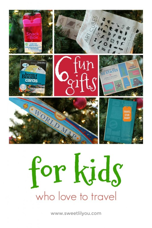 6 Fun Travel Gifts For Kids!