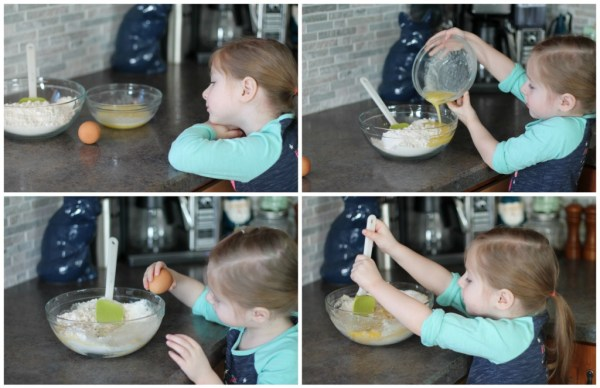 Avery baking cookies