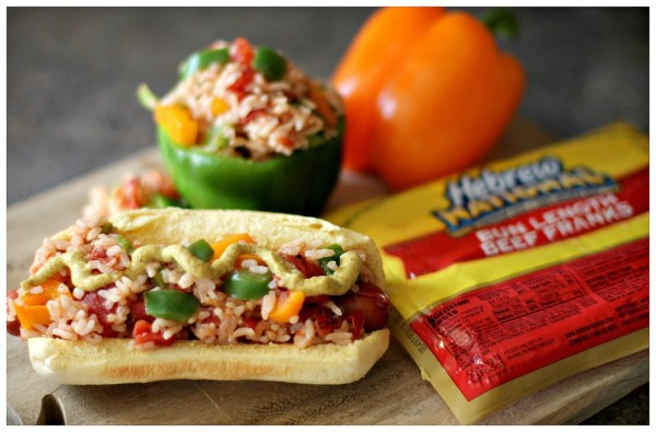 Hebrew National Stuffed Pepper Hot Dogs