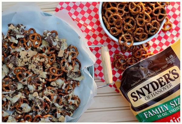 Snyders Pretzel s'mores pretzels