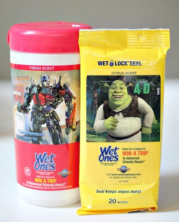Wet Ones Universal Orlando Packs