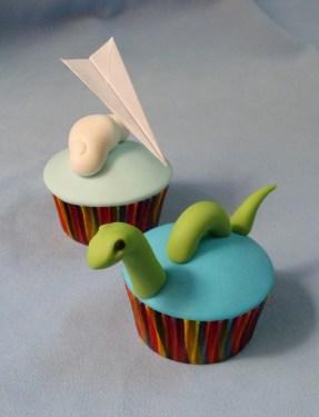 Cupcakes para un viaje a Escocia