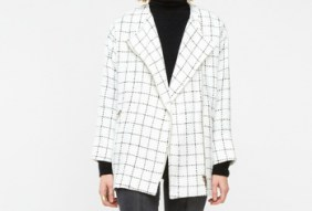checked oversize jacket 50.23