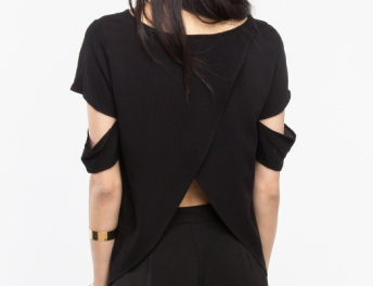 cut out blouse