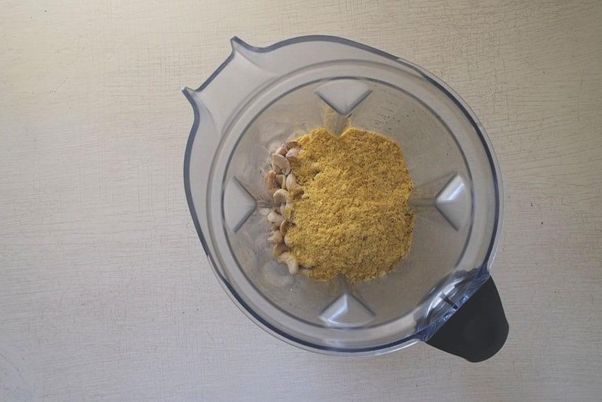 making cashew cheese #vegan