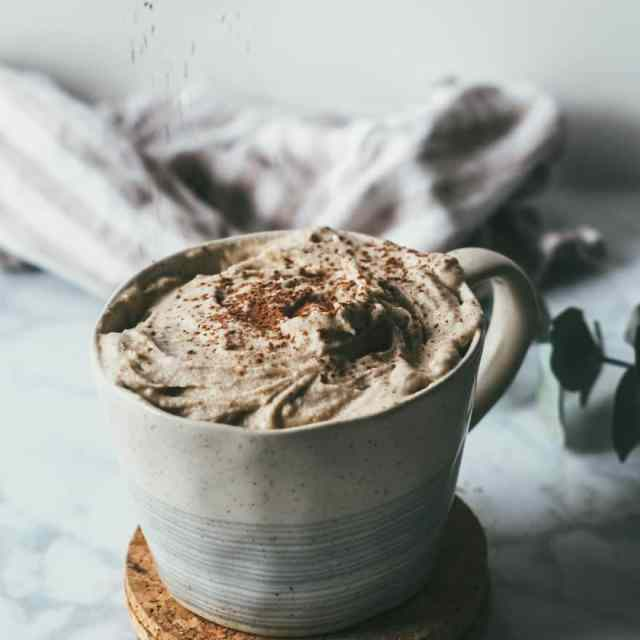Hazelnut Hot Chocolate (with CBD oil option)