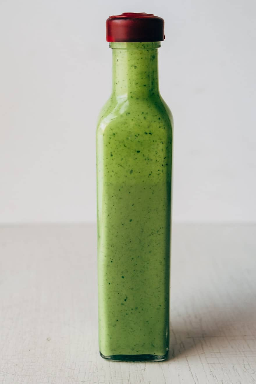 Green Honey Dressing #paleo