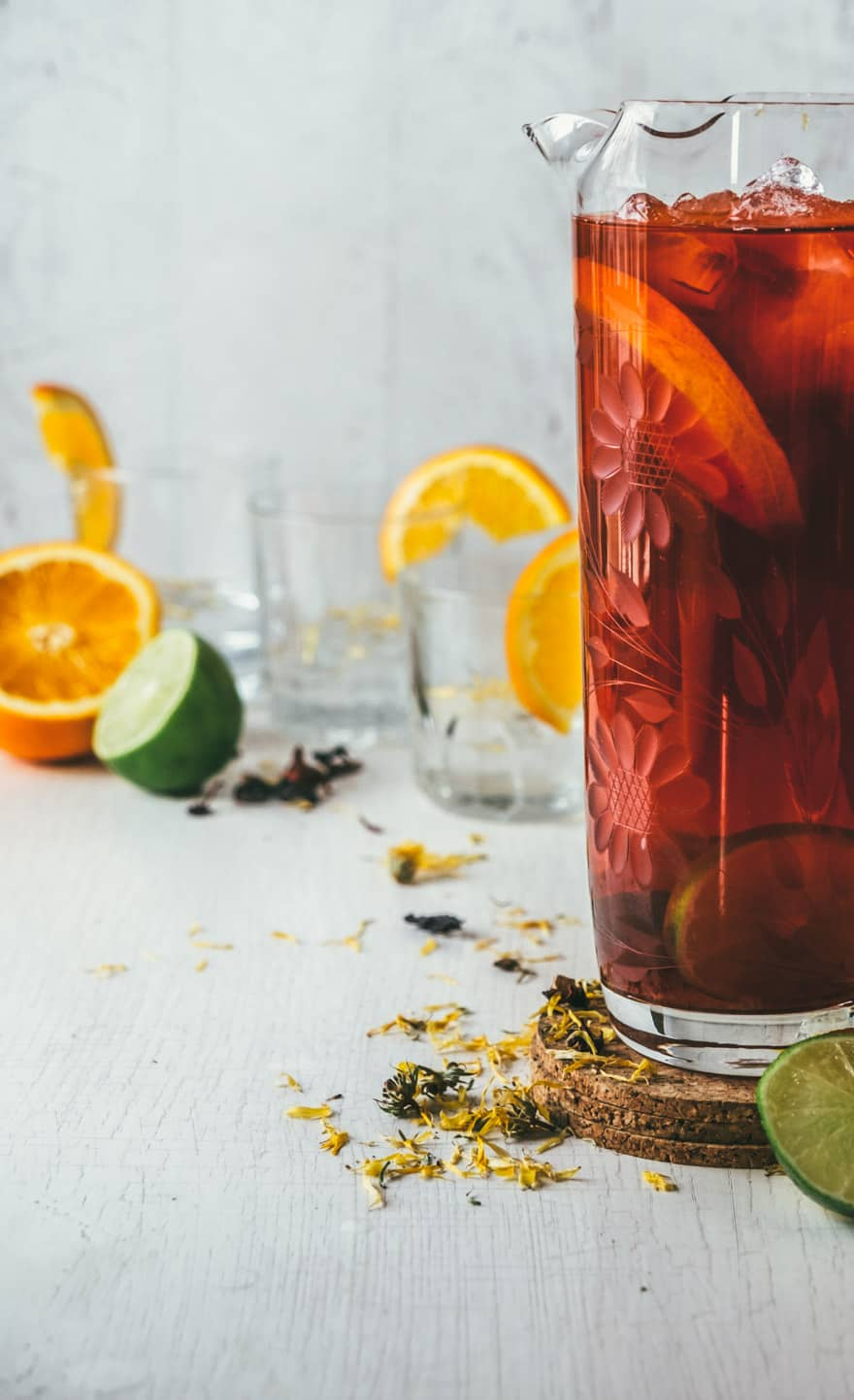 maple water herbal iced tea #recipe #tea