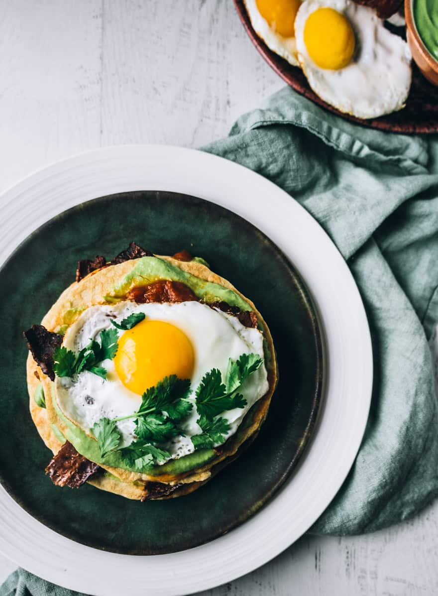 Paleo Savoury Pancakes #paleo #pancakes