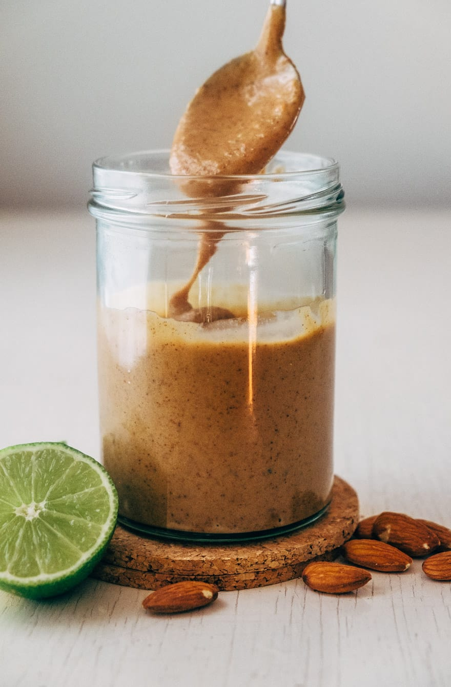 Whole 30 Thai Almond Butter Sauce