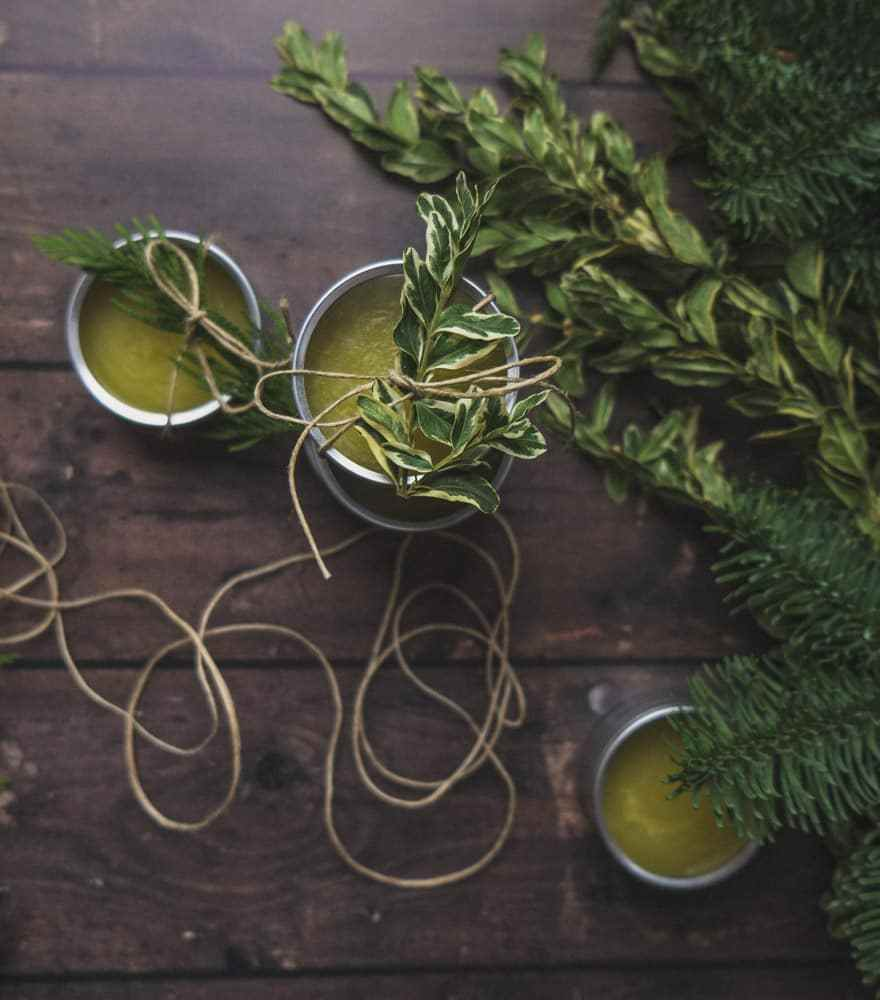 DIY Body Balm  |  Douglas Fir and Orange Body Balm