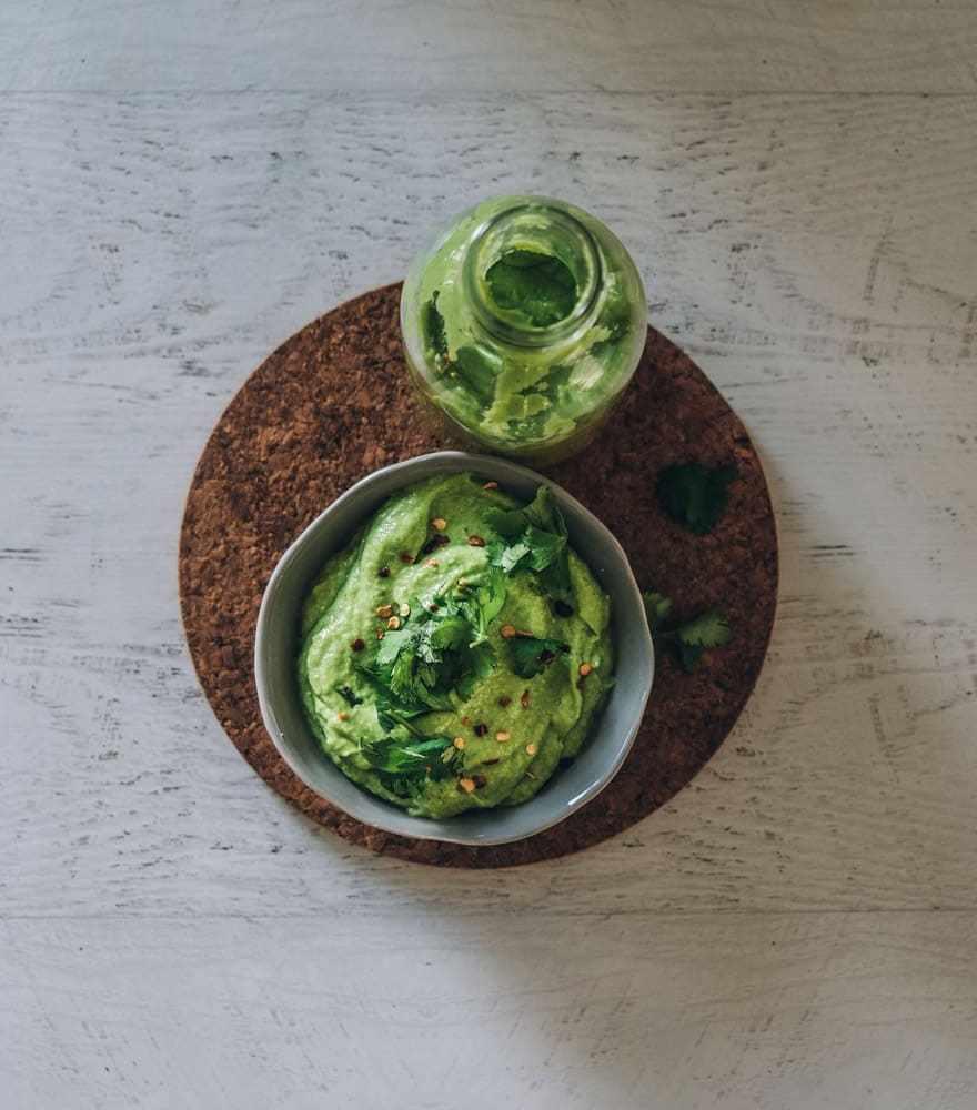 Green Apple Jalapeno Sauce #vegan #paleo