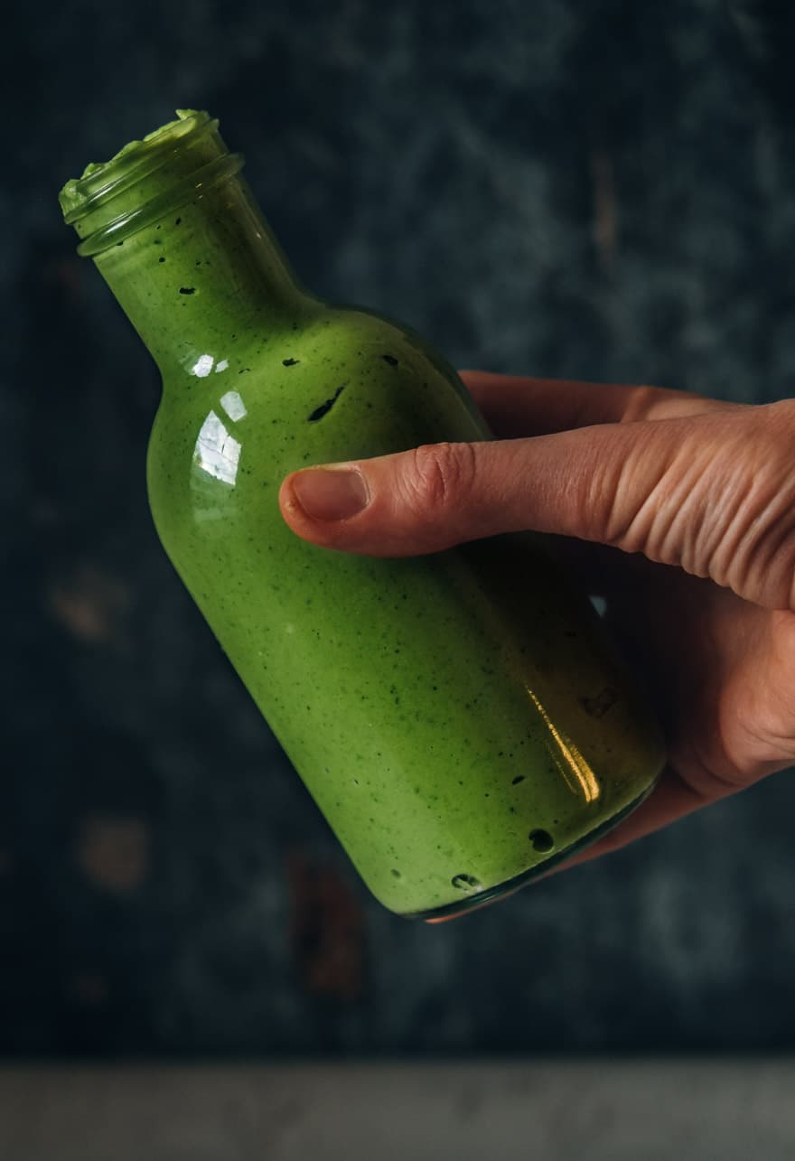 Green Apple Jalapeno Sauce #vegan #paleo