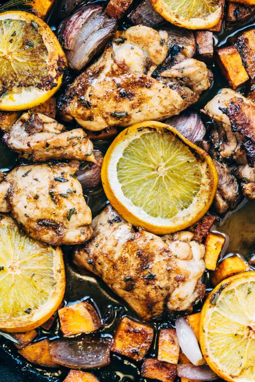 whole30 orange glazed chicken