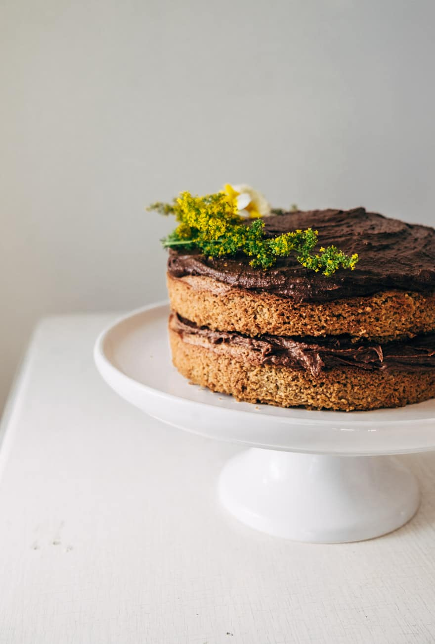 paleo birthday cake #paleo #glutenfree