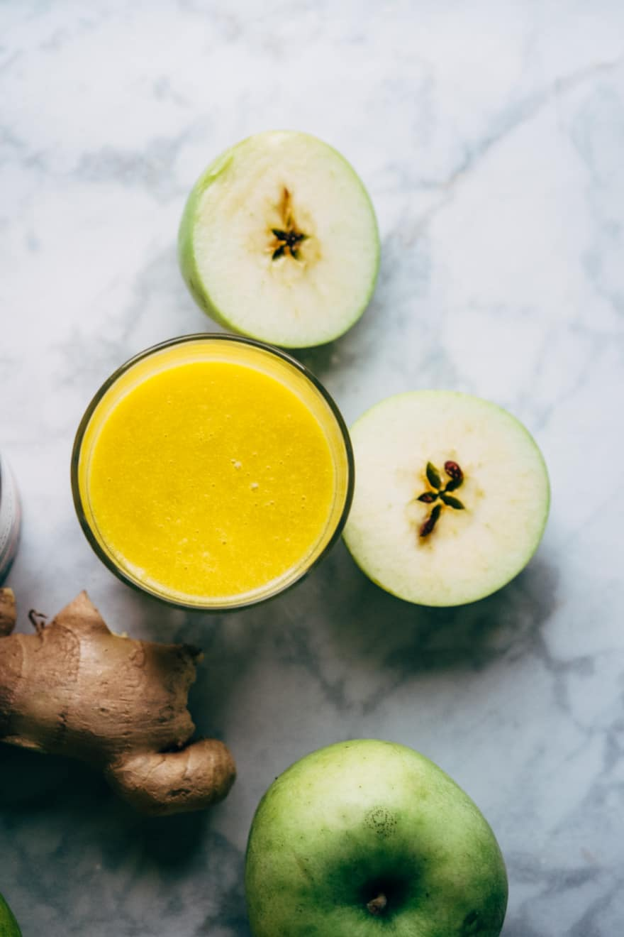 pumpkin ginger smoothie