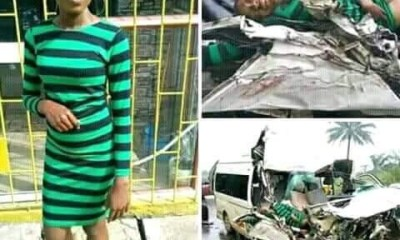 Sweetloaded ABSU-1 Photo Of Female ABSU Student Moments Before She Died In A Fatal Accident Others  eko