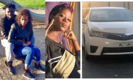 Obafemi Martins' Wife Reveals How She Feels About Car Bought For Khloe