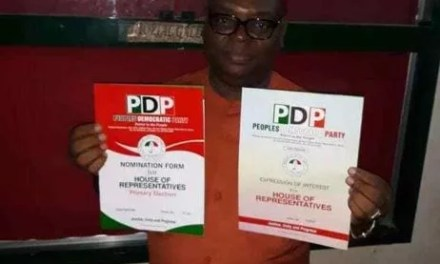Oh No! Popular Politician Dies Few Days After Picking House Of Reps Nomination Forms (Photo)