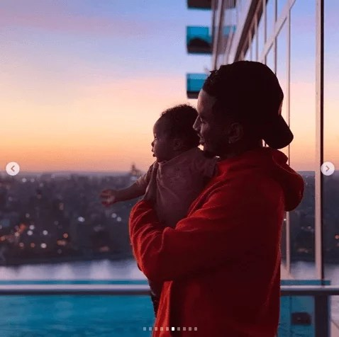 Sweetloaded 5dad6b7956b1a Trey Songz shares adorable new photos with his son as he turns 6 months old gist  Treyz share adorable photos