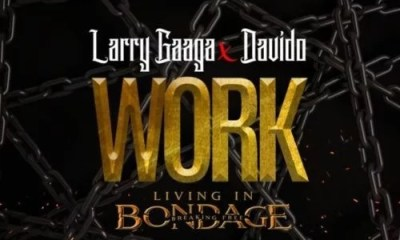 "Sweetloaded Larry-Gaaga-Work-cover [Music] Larry Gaaga x Davido – ""Work"" (Prod. Fresh VDM) Music trending  work Larry gaaga Davido"