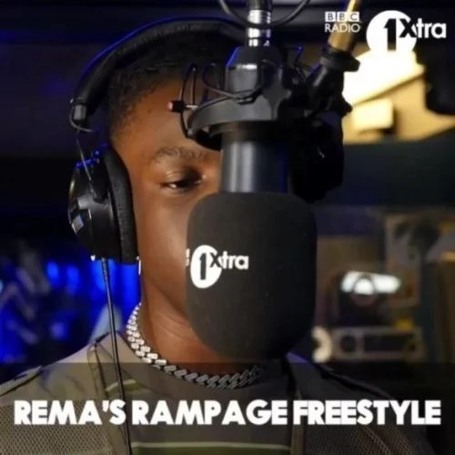 "Sweetloaded Rema-Rampage-freestyle-585x585 [Music] Rema – ""Rampage"" (Freestyle) Music trending  Rema rampage"