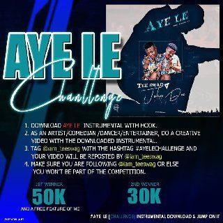 Tee swag - Aye Le Instrumental Ft Johndee