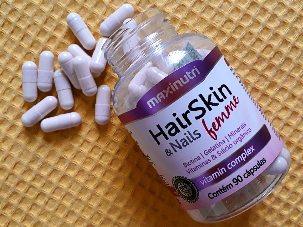HairSkin & Nails Femme da Maxinutri