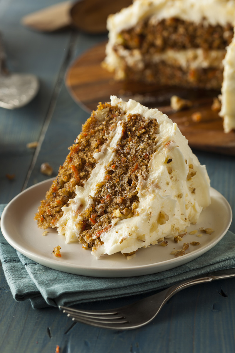 SWEETLY Carrot Cake with Cream Cheese Frosting