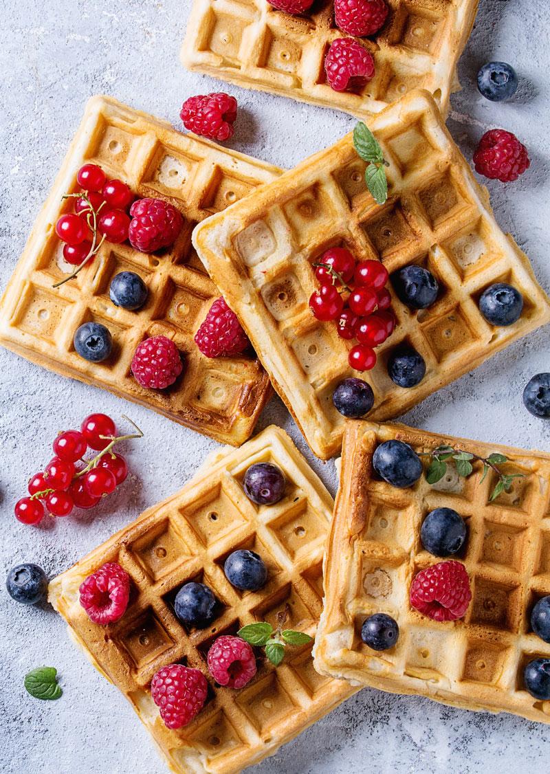 SWEETLY Vanilla Waffles