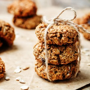 SWEETLY Oat, Raisin and Sunflower Seed cookies