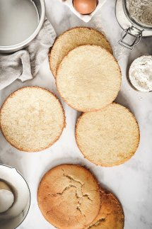 Sponge cake le gâteaux éponge