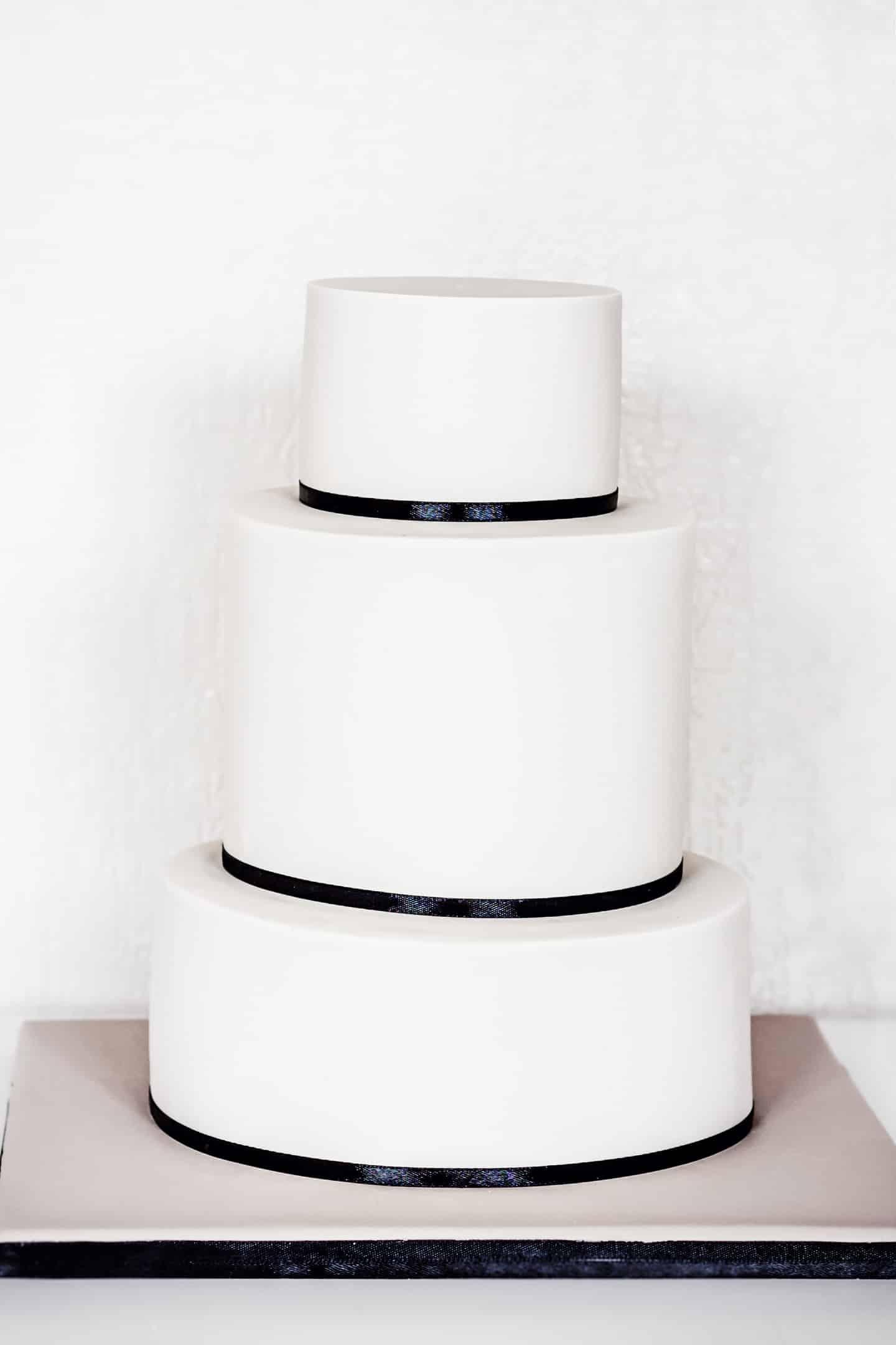 Ganache de couverture pour gâteau en pâte à sucre